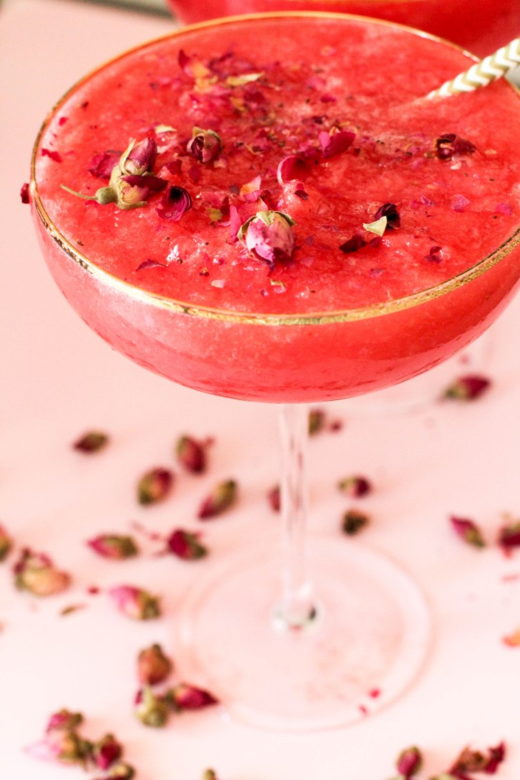 Watermelon, Rose water and Gin Slushie 142