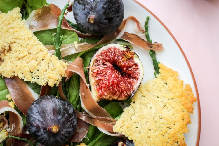 West coast and fig salad 075