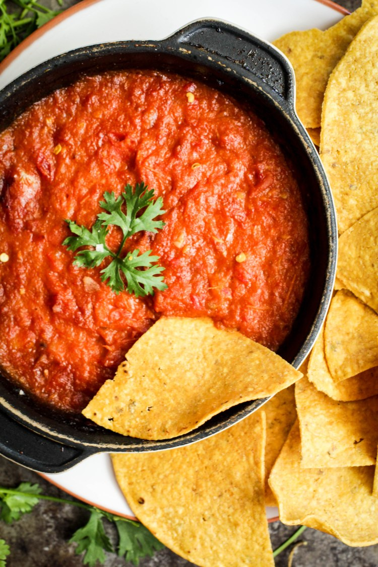 Roasted Tomato Salsa 089-2